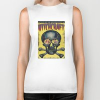witchcraft Biker Tanks featuring WitchCraft by Copyright free comic fans