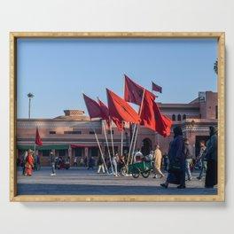 Pride of Jemaa el-Fna (Marrakech) Serving Tray