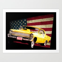 Chevy Nova 67 Art Print