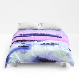 Whale migration Comforters