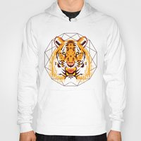 thundercats Hoodies featuring Geometric Tiger by chobopop