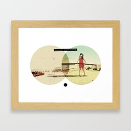 You Look Great When I'm (...) Fucked Up   Collage Framed Art Print