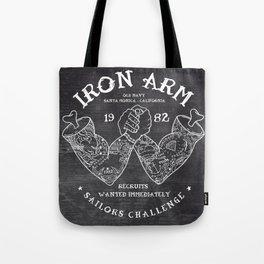 Iron Arm Tote Bag