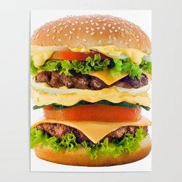 Cheeseburger YUM Poster