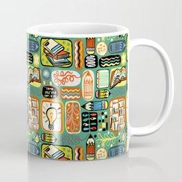 Reading and Writing Coffee Mug