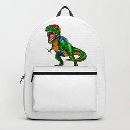 Dinosaur T Rex School Backpack