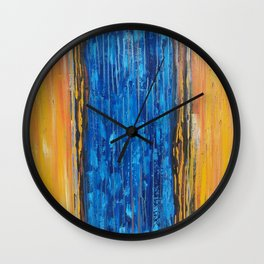 Coming Together, Apart Wall Clock