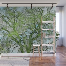 Weeping Willow in Spring Wall Mural
