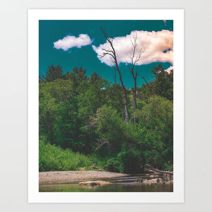 River Days Art Print