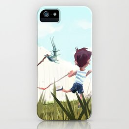 Paint on Fence iPhone Case