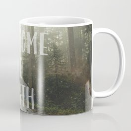 WELCOME TO EARTH Coffee Mug