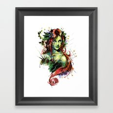 Poison Ivy Framed Art Print