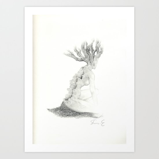 Sleeping Forest Art Print