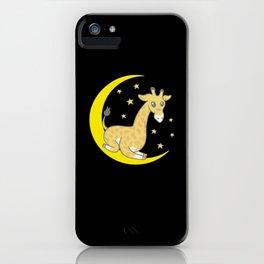 Cute Baby Giraffe iPhone Case