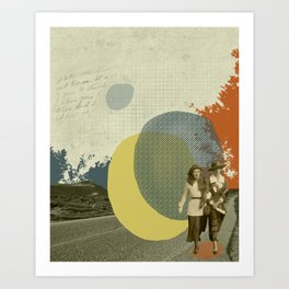 Long way from home Art Print
