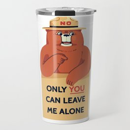 Leave Me Alone Travel Mug