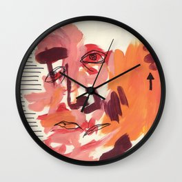 What You Say & What You Mean Wall Clock