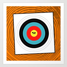 Target Grouping Art Print
