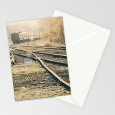 Railroad Crossing Stationery Cards