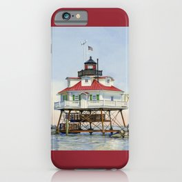 Thomas Point Light iPhone Case