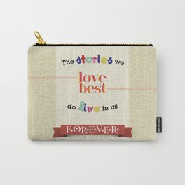 The Stories We Love Best - J.K. Rowling Carry-All Pouch