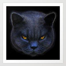 Cross Cat! Art Print
