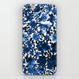Sophia Floral Blue iPhone Skin