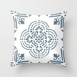 azulejos by Laura Pizzicalaluna Throw Pillow