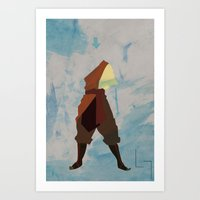 aang Art Prints featuring Aang by JHTY