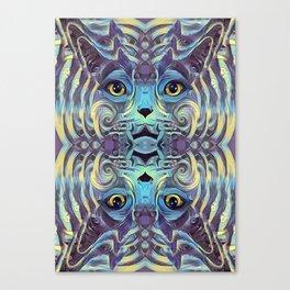 Catnip Psych (Electric Catnip) Canvas Print