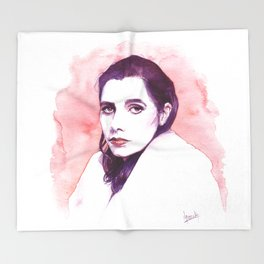 Polly Jean Harvey Throw Blanket