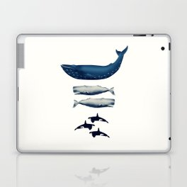 Whale Counting 123  Laptop & iPad Skin