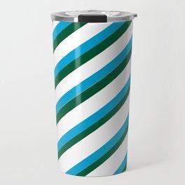 TEAM COLORS 1...LIGHT BLUE,GREEN Travel Mug