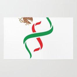 Mexico In My DNA Soccer & Futbol Mexican Rug