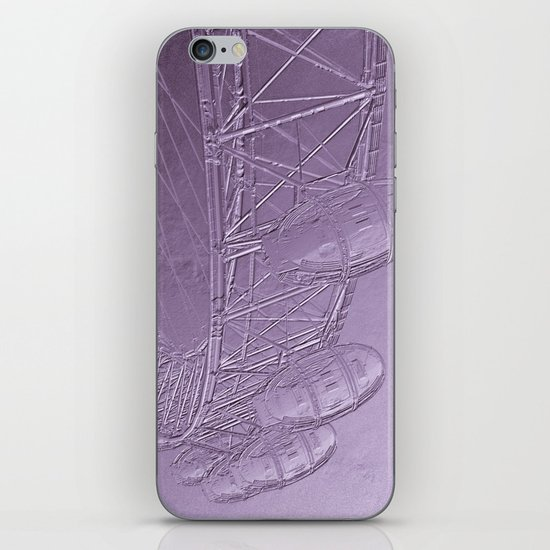 Embossed London Eye iPhone & iPod Skin