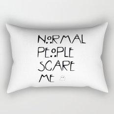 Normal People Scare Me - AHS Rectangular Pillow