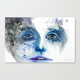 Empty Thoughts Canvas Print