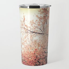 Cherry Blossom Nostalgia Travel Mug
