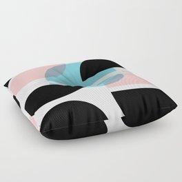 Audrey Geometric #1 Floor Pillow