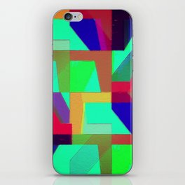 Colorful Truth. Green. iPhone Skin