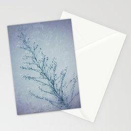 Seeds of Weeds in Vintage Blue Stationery Cards