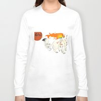 okami Long Sleeve T-shirts featuring Okami! by Caroline.Sweet