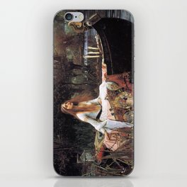 The lady of shalott painting  iPhone Skin