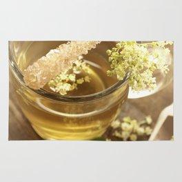 Elder Tea Still life for kitchen Rug