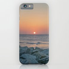 Sunrise at the Battery Seawall Fort Fisher NC iPhone 6s Slim Case