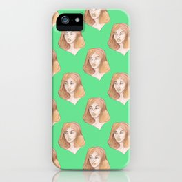 GINGER GIRL iPhone Case