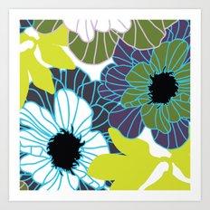 Rooftop Garden-Spring Art Print