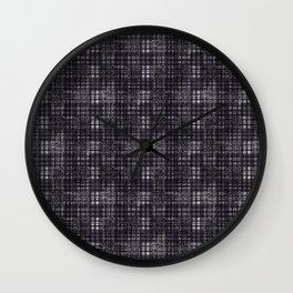 Classical dark cell. Wall Clock