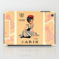 french girl  iPad Case