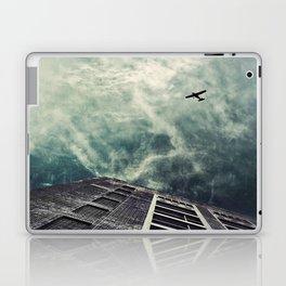 Boston [Sky cut 414] Massachussets, Usa Laptop & iPad Skin
